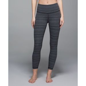 Lululemon High Times Pant *Luxtreme Cyber Stripe